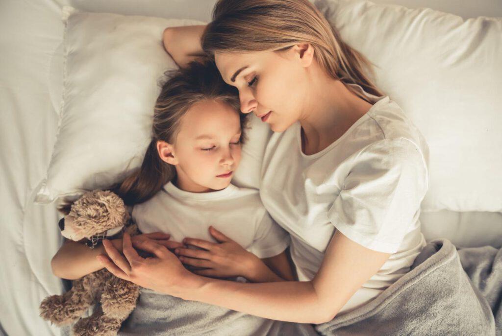 samen kunnen slapen